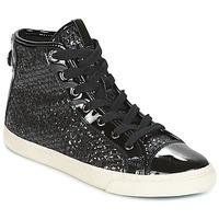 Zapatos Mujer Zapatillas altas Geox D NEW CLUB Negro
