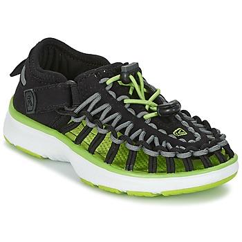 Zapatos Niños Sandalias de deporte Keen UNEEK O2 Negro