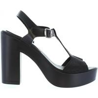 Zapatos Mujer Sandalias Cumbia 30114 Negro
