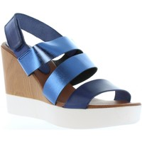 Zapatos Mujer Sandalias Vaquetillas 20136 Azul