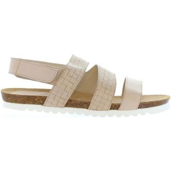Zapatos Mujer Sandalias Vaquetillas 20161 Beige