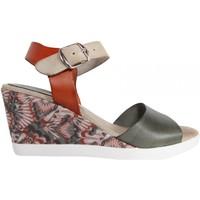 Zapatos Mujer Sandalias Cumbia 30151 Verde
