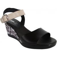 Zapatos Mujer Sandalias Cumbia 30151 Negro
