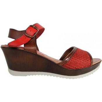 Zapatos Mujer Sandalias Cumbia 30158 Rojo