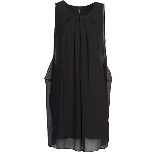 textil Mujer vestidos cortos Naf Naf KLOLA Negro
