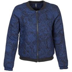 textil Mujer cazadoras Naf Naf LORRICE Azul