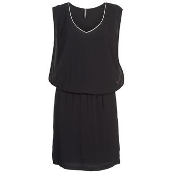 textil Mujer vestidos cortos Naf Naf LYLOMA Negro