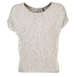 textil Mujer camisetas manga corta Naf Naf MILLON Gris