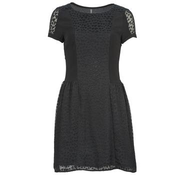 textil Mujer vestidos cortos Naf Naf KEUR Negro