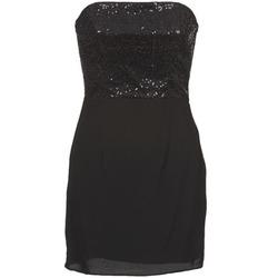 textil Mujer vestidos cortos Naf Naf LYCHA Negro
