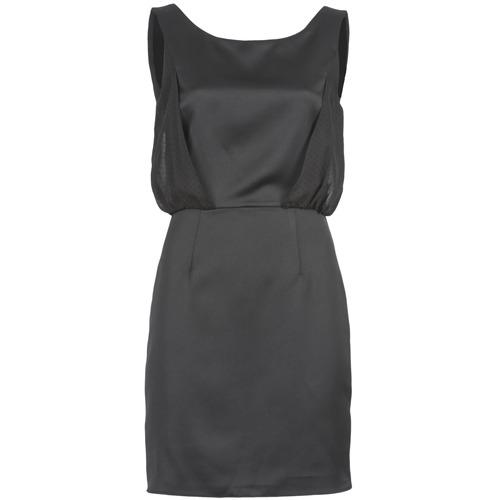 textil Mujer vestidos cortos Naf Naf LYCOPINE Negro