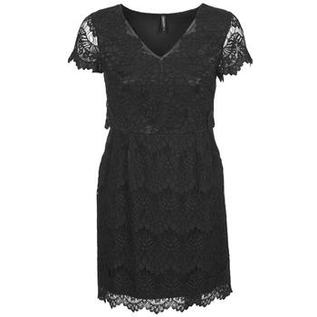textil Mujer vestidos cortos Naf Naf LYJO Negro