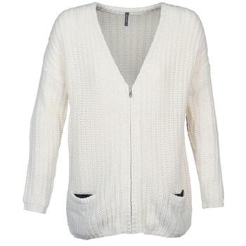 textil Mujer Chaquetas de punto Naf Naf MEDEN CRUDO