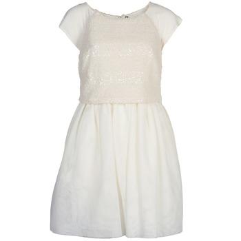 textil Mujer vestidos cortos Naf Naf LYMELL Blanco