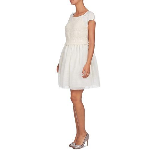 Lymell Textil Mujer Vestidos Blanco Cortos Naf cFK13TlJ