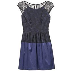 textil Mujer vestidos cortos Naf Naf LYLITA Negro / Marino