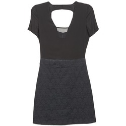 textil Mujer vestidos cortos Naf Naf EKLATI Negro