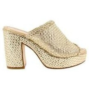 Zapatos Mujer Zuecos (Mules) Pon´s Quintana 5844 oro oro
