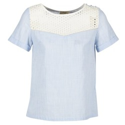 textil Mujer Tops / Blusas Betty London GERMA Blanco / Azul