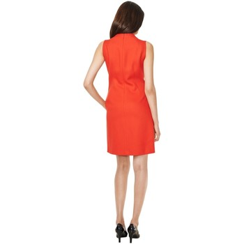 Gant Vestido Double Wool Twill Naranja