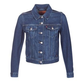 textil Mujer chaquetas denim Levi's ORIGINAL TRUCKER Azul / JEAN