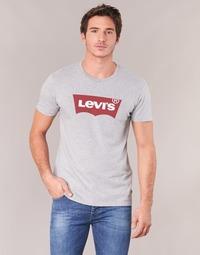 textil Hombre camisetas manga corta Levi's GRAPHIC SET-IN Gris