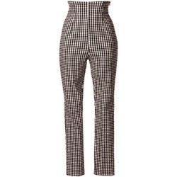 textil Mujer pantalones chinos Denny Rose 73DR12011 Trousers Mujeres Black