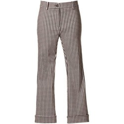 textil Mujer pantalones chinos Denny Rose 73DR12012 Trousers Mujeres Black
