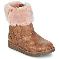 Zapatos Niña Botas de caña baja Mod'8 ALTECIA DORADO