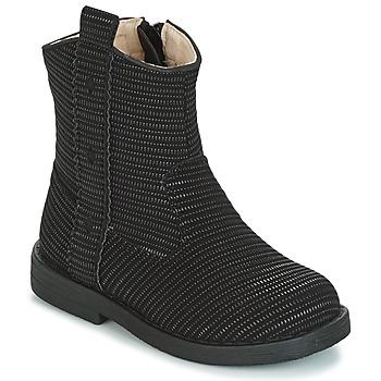 Zapatos Niña Botas urbanas Mod'8 ZOULIA Negro