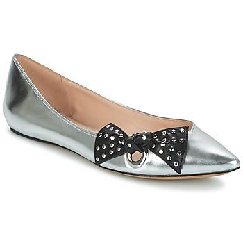 Zapatos Mujer Bailarinas-manoletinas Marc Jacobs RITA POINTY TOE Plateado