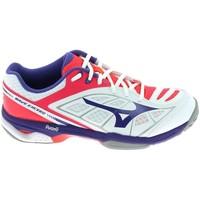 Zapatos Mujer Zapatillas bajas Mizuno Wave Exceed CC Blanc Blanco