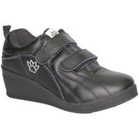 Zapatos Mujer Sport Indoor Kelme Zapatillas deporte con cuña velcro negro