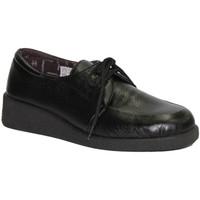 Zapatos Mujer Derbie Doctor Cutillas Zapato cordones pies muy delicados negro