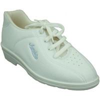 Zapatos Mujer Sport Indoor Alfonso Zapatillas deporte con cuña muy cómoda blanco