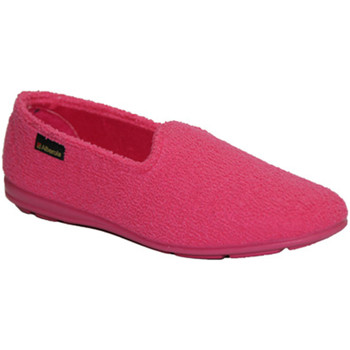 Zapatos Mujer Pantuflas Made In Spain 1940 Zapatilla toalla cerrada rosa