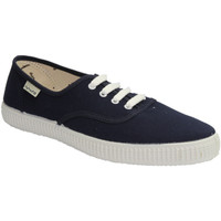 Zapatos Zapatillas bajas Muro Bambas de lona azul