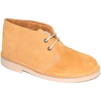 Zapatos Hombre Botas de caña baja El Corzo Bota safari con forro marrón