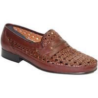 Zapatos Hombre Mocasín 30´s Zapato rejilla sin cordon marrón