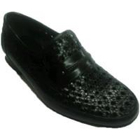 Zapatos Hombre Mocasín 30´s Zapato rejilla sin cordon negro