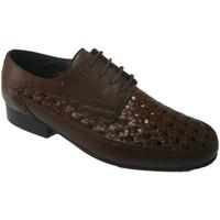 Zapatos Hombre Derbie 30´s Zapato rejilla con cordon marrón