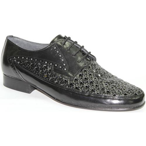 30´s Zapato rejilla con cordon negro - Zapatos Mocasín Hombre