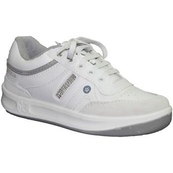 Zapatos Hombre Zapatillas bajas Paredes Deportivas clásica cordones blanco