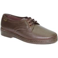 Zapatos Hombre Derbie Doctor Cutillas Zapatos cordones para pies muy delicados marrón