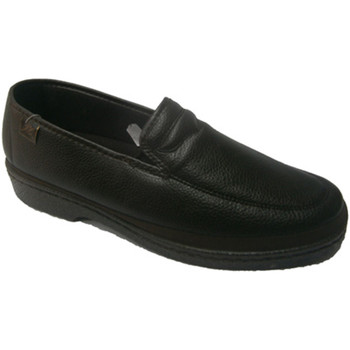 Zapatos Hombre Mocasín Doctor Cutillas Zapatos sin cordones para pies muy delicados marrón