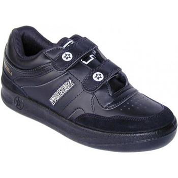 Zapatos Hombre Zapatillas bajas Paredes Deportivas clásica velcro negro