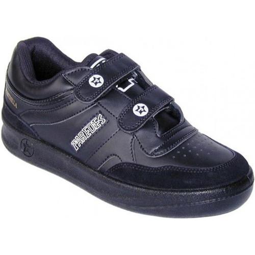 Paredes deportivas cl sica velcro negro zapatos for Paredes zapatos