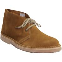 Zapatos Hombre Botas de caña baja El Corzo Bota safari sin forro marrón