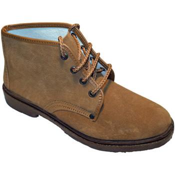 Zapatos Hombre Botas de caña baja Vulsega Bota trabajo serraje marrón