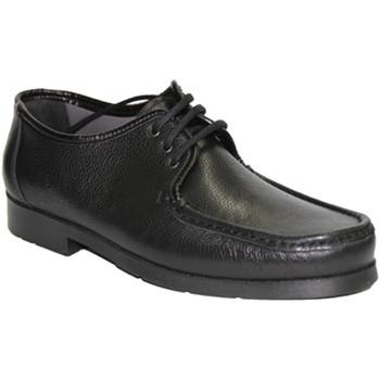 Zapatos Hombre Derbie Himalaya Mocasín cordones  muy cómodo negro